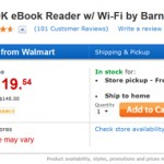 Nook e-Readers on Sale at Walmart