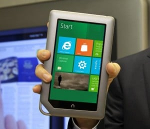 Will the New Nook Tablet Run Windows 8?
