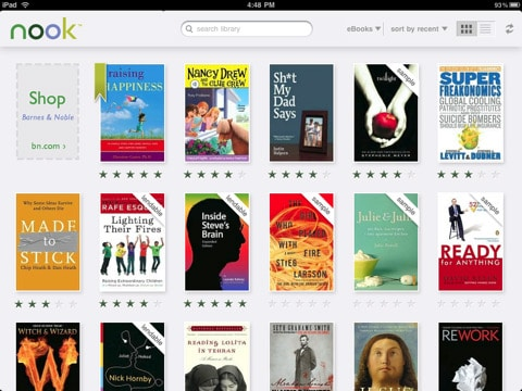 Kobo and Nook for iOS Receive Big Updates
