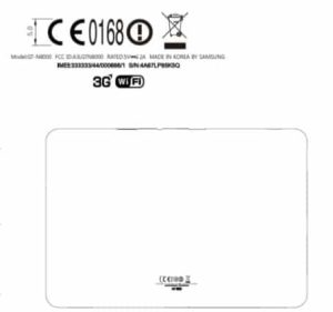 Samsung Galaxy Note 10.1 Reaches FCC