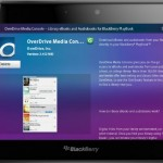 Overdrive Media Console Now On The Blackberry Playbook