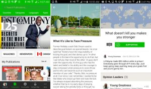 PressReader Overhauls their Newspaper App for Android