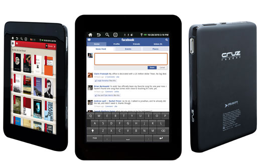 Velocity Micro Cruz Reader And Cruz Tablet To Debut Next Month