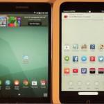 Samsung Galaxy Tab 4 Nook vs Nook HD