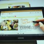 Samsung Galaxy Tab 10.1 UI Demoed on YouTube Video