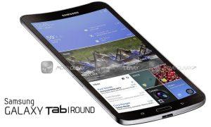 Samsung Galaxy Tab Round in the Works