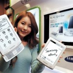 Samsung SNE-60 E-Reader on sale in France