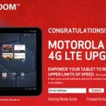 Motorola XOOM 4G upgrade now available