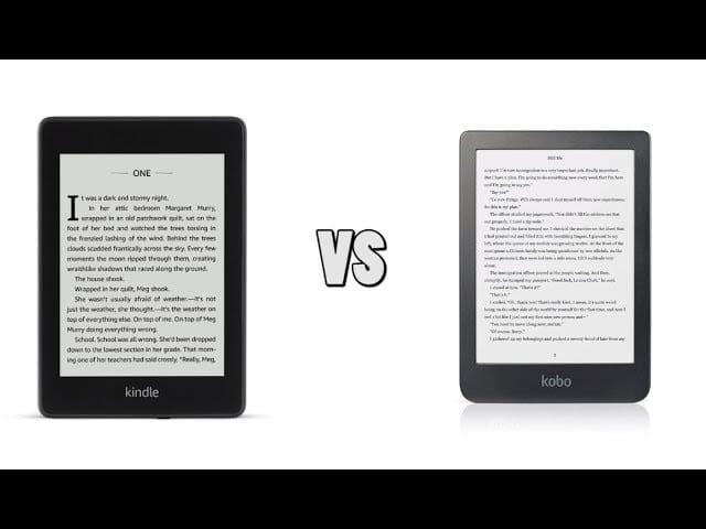 Kobo Clara HD vs the Amazon Kindle Paperwhite 4