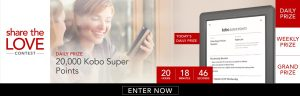 Kobo debuts first contest where you win Super Points
