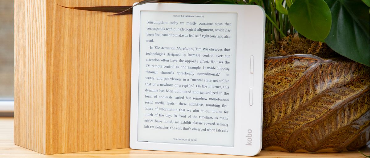 Kobo announces the Kobo Libra H20