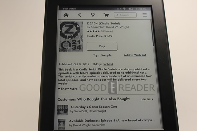 Review of the Amazon Kindle Paperwhite