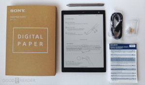 Review of the Sony Digital Paper DPT-CP1