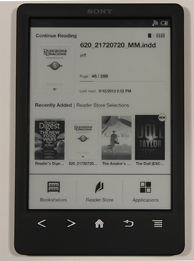 SONY PRS-T3 EBOOK READER WINDOWS 7 DRIVERS DOWNLOAD