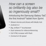 Sprint Slashes Samsung Galaxy Tab Price to $299