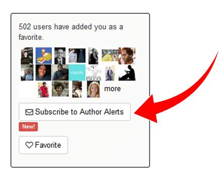 subscribe to Smashwords Alerts