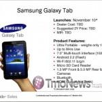 T-Mobile US launching Galaxy Tab on Nov 10