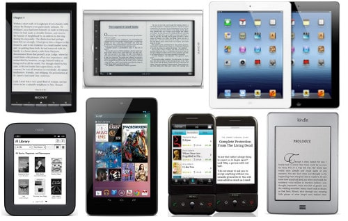 digital book readers ebook reader device