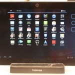 Hands on with the Toshiba Excite X10 at CES 2012 – A Thin but Expensive Tablet