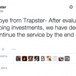 Avoid the Law No More: Trapster Dies with 2014