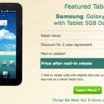 Samsung Galaxy Tab Price Reduction on US Cellular