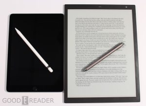 Apple iPad Pro with Apple Pencil vs Sony DPT-RP1 with Stylus