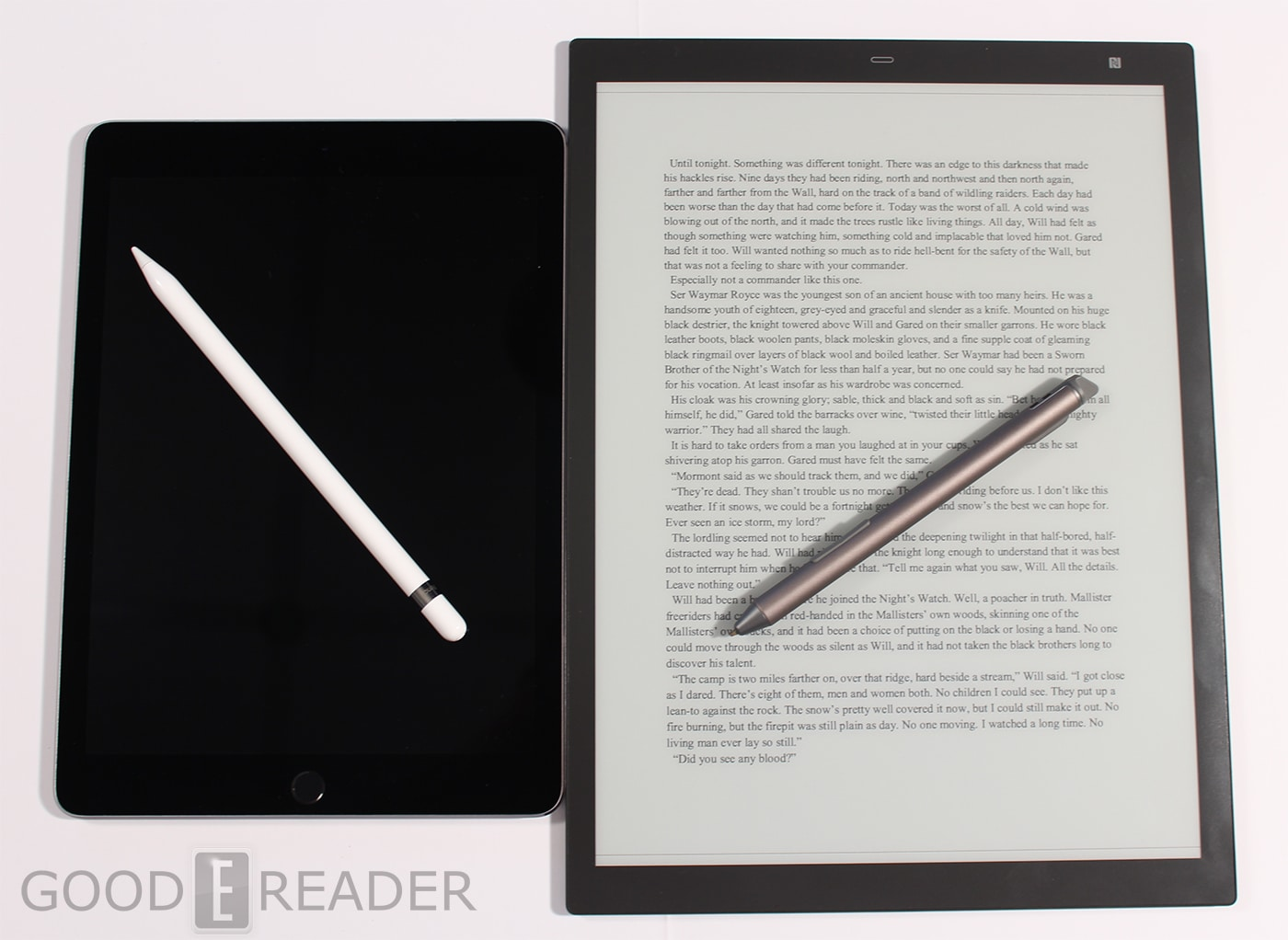 Kindle Vs Sony Reader: Apple IPad Pro With Apple Pencil Vs Sony DPT-RP1 With Stylus