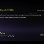 Motorola Xoom 3G Android 3.2 Update is Live