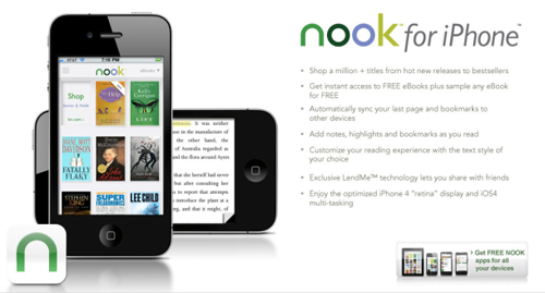 nook for iphone