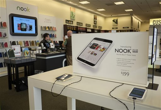 Nook-Google Play