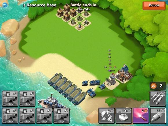 boom beach offensive strategies