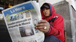 Ecuador NSA Surveillance Snowden