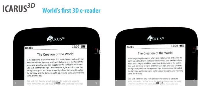 ICARUS3D e-reader
