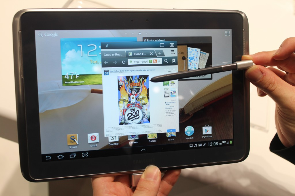 Samsung galaxy note 10.1 verizon