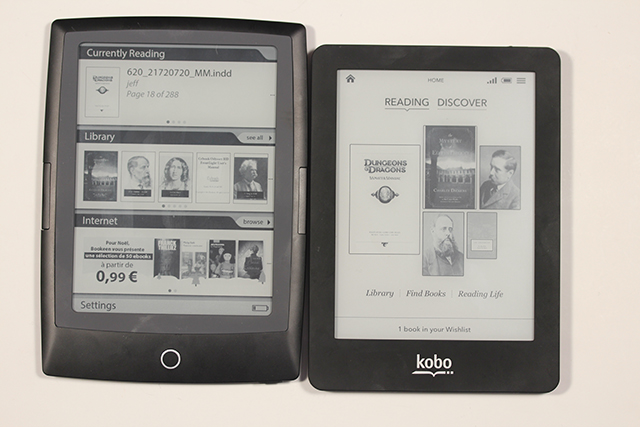 kobo glo and cybook hd