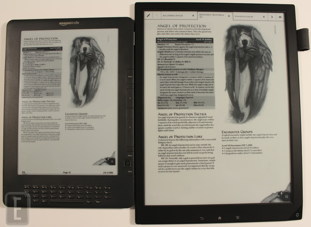 Kindle Vs Sony Reader: Amazon Kindle DX Vs. Sony Digital Paper (DPT-S1