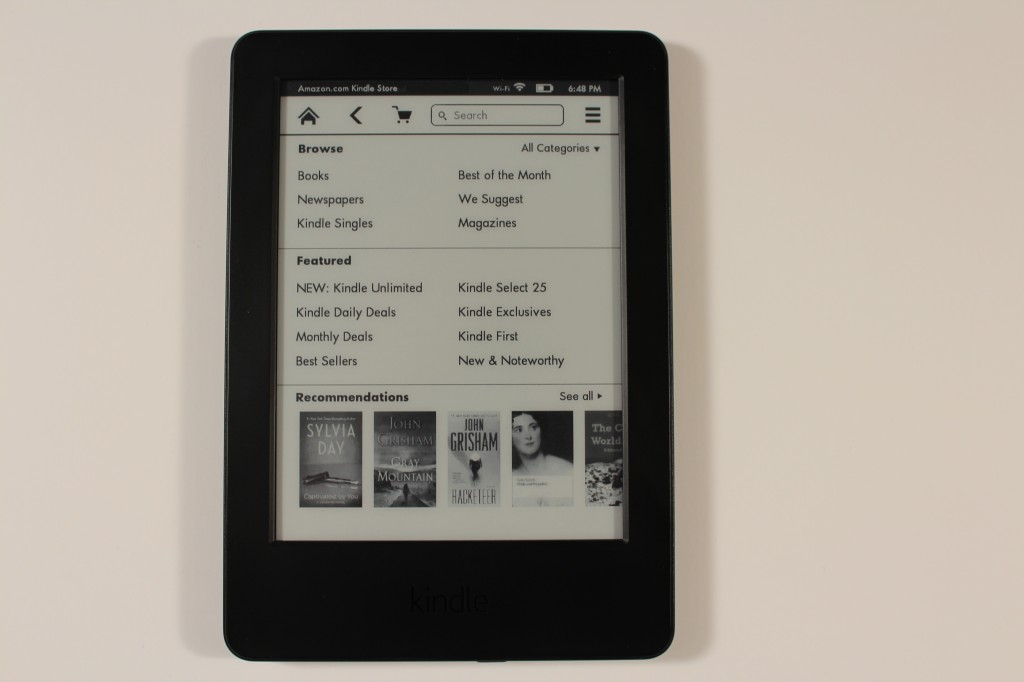 Amazon Kindle Basic 2014 Review 7th Generation Kindle Good E Reader