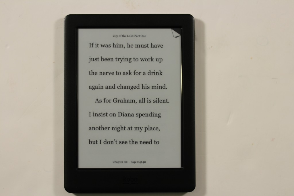 Kobo Touch 2.0 ebook