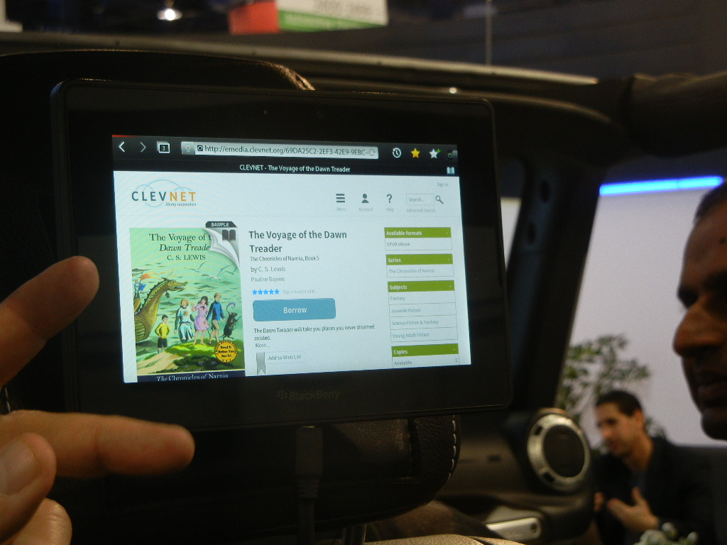 Library eBooks in Jeep
