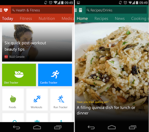 microsoft introduces a half dozen msn branded apps for android