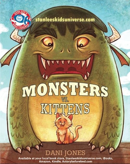 Monsters vs Kittens cover