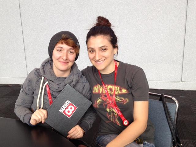 Darya Trushkina and Rebecca Buttle of NARR8