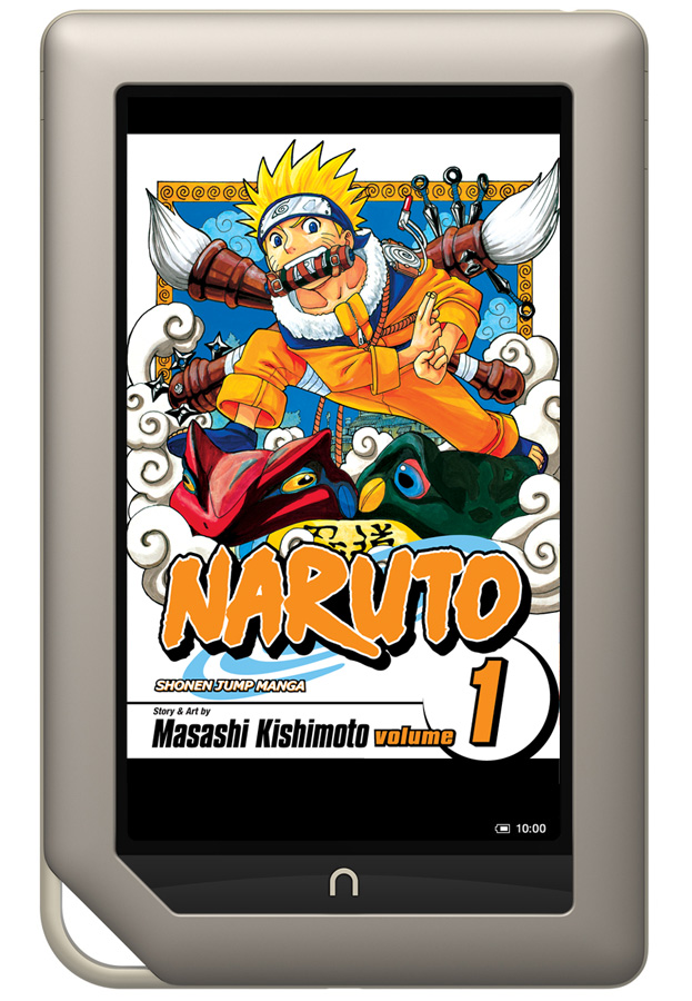 Naruto on Nook