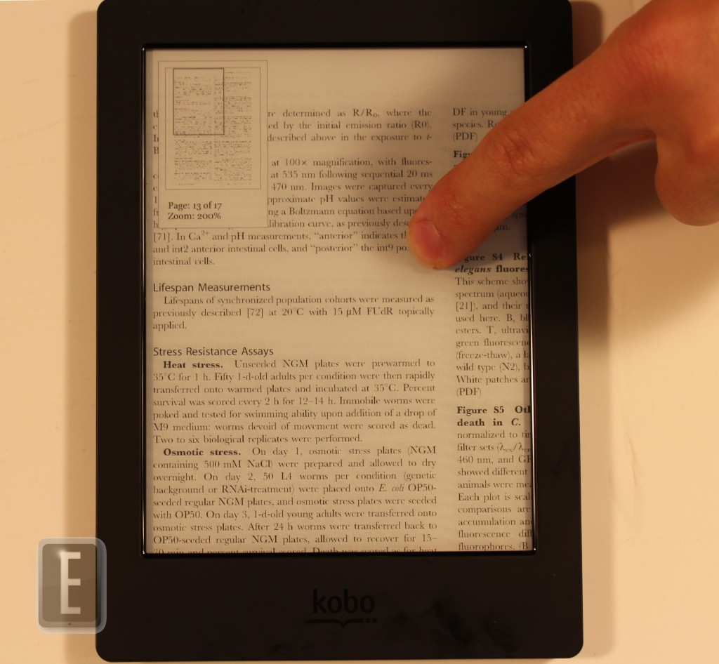 Full review of the kobo aura h2o good e reader not all titles have the beyond the book so if your specific ebook is missing it please do not fret fandeluxe Images