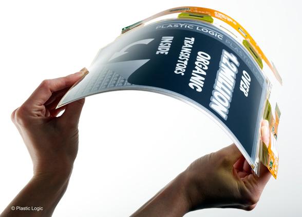 Plastic-Logic-flexible-display
