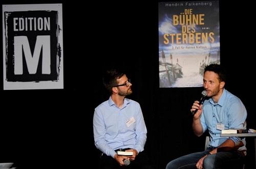 Launch-Party des neuen Krimi- & Thriller-Verlags -Verlagsprogramm von Amazon im  Mixed Munich Arts in München am 05.08.2016 Agency People Image (c.) Michael Tinnefeld