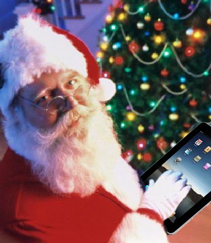 Santa-Ipad