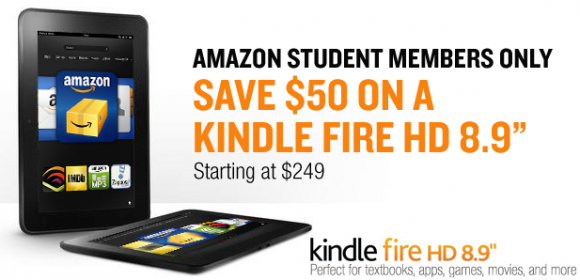 kindle fire hd 8.9 student discount