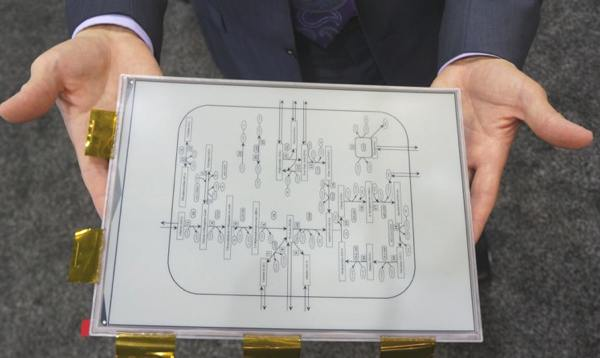 Sony-E-ink-Tablet-Display-Demo