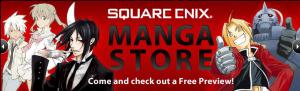 Square Enix manga store